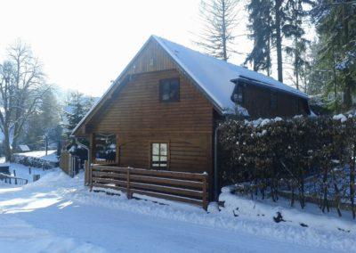 Doubická Salaš v zimě