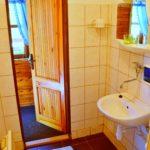 Doubická Salaš, koupelna
